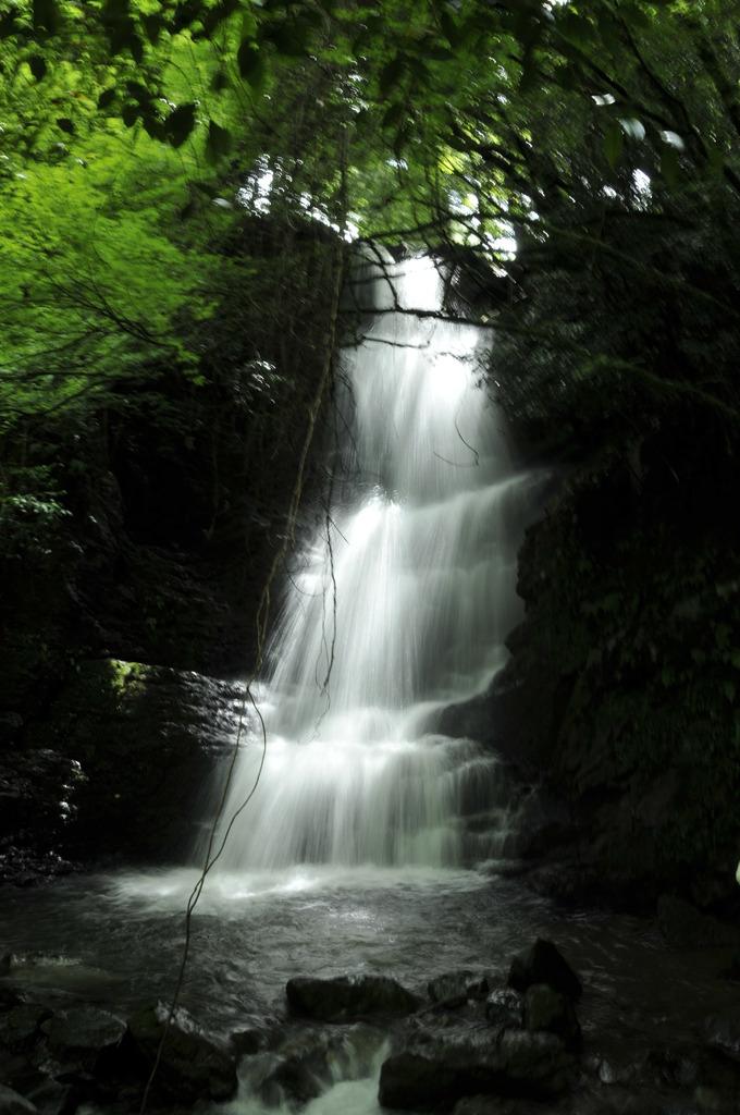 うはき市・斧渕の滝