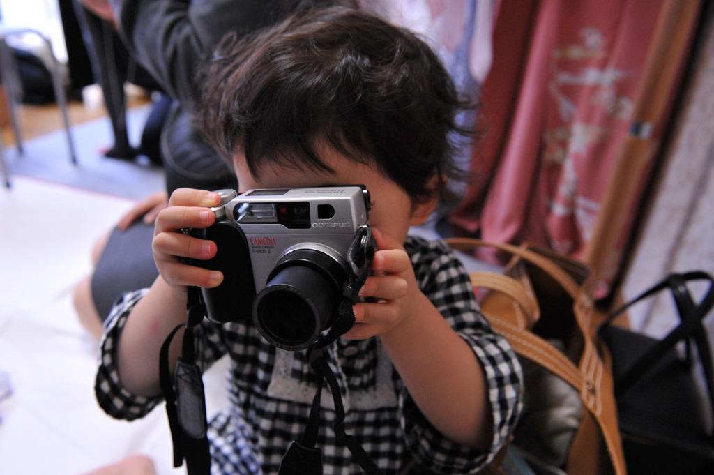 姪カメラマン