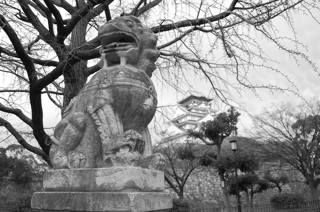 あー 自分 大阪城の守り神ッス