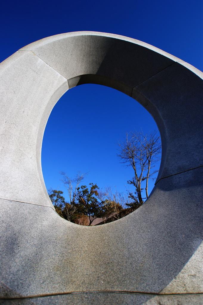 大きな覗き穴