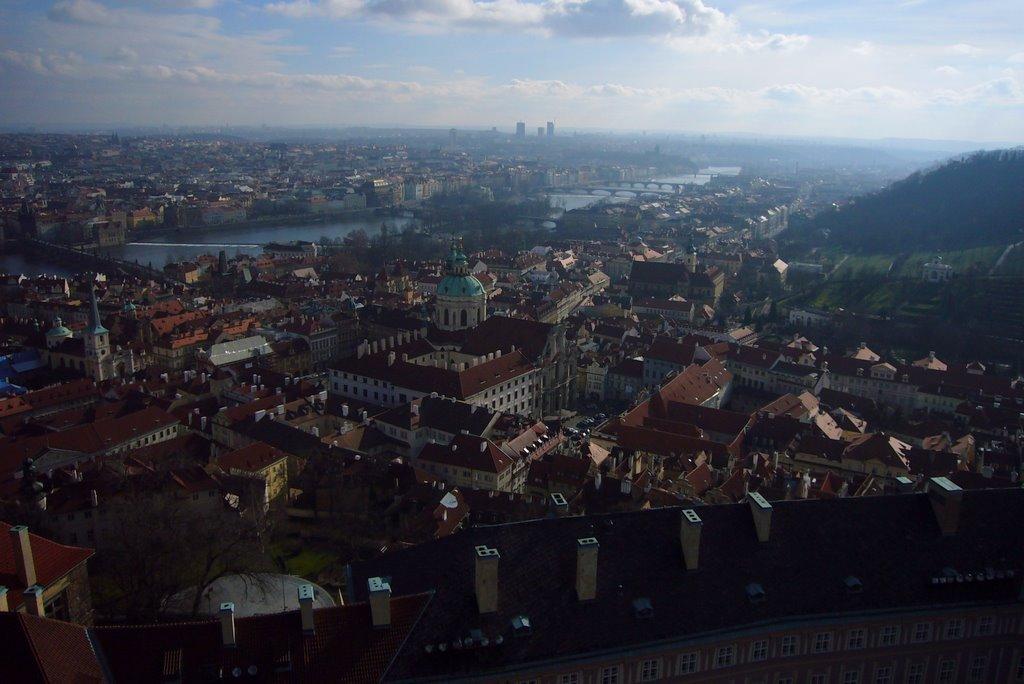 おとぎの街の眺め