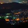 定光寺展望台からの夜景