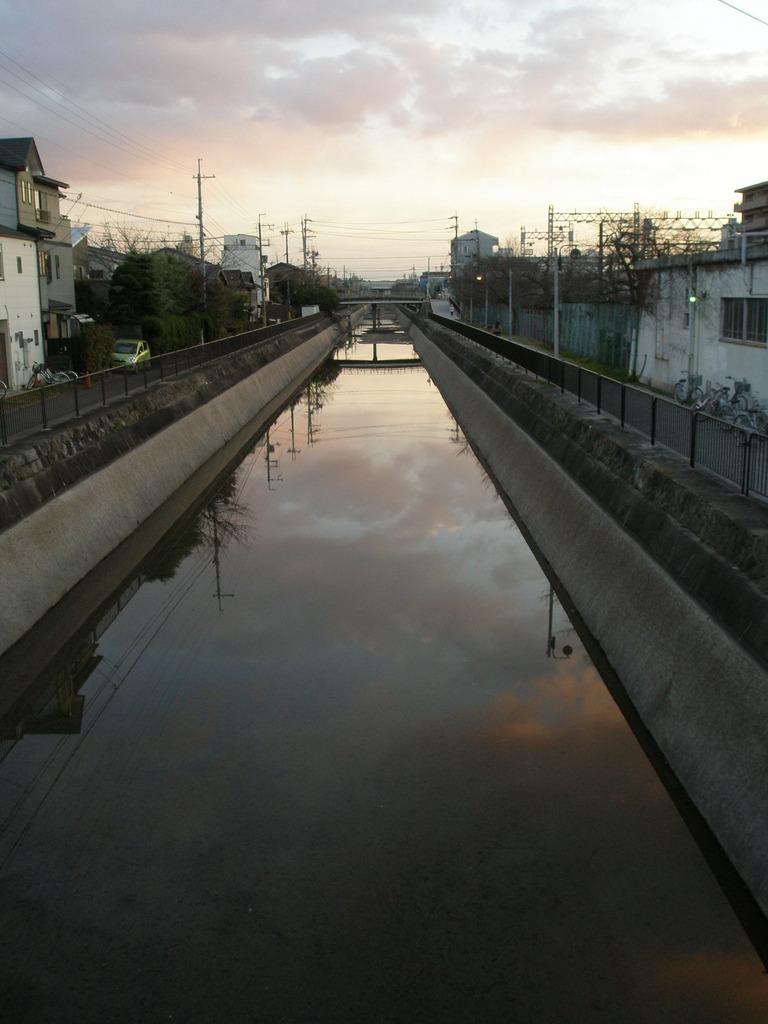 sky in the river