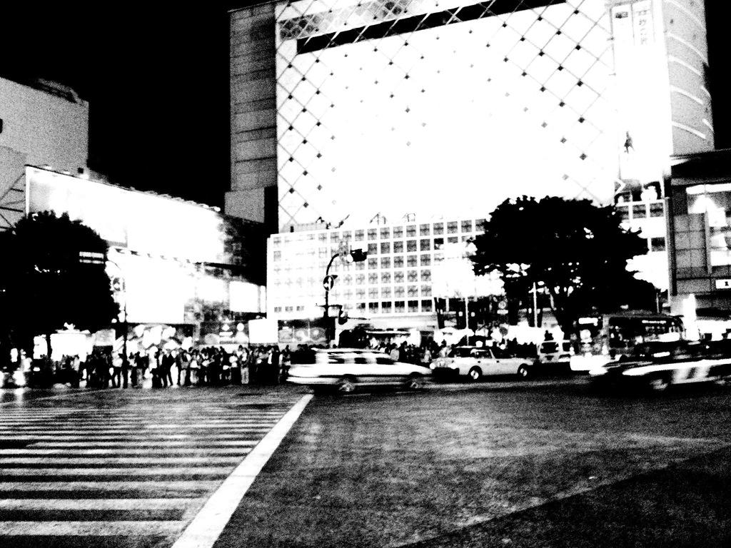 渋谷は眠らない
