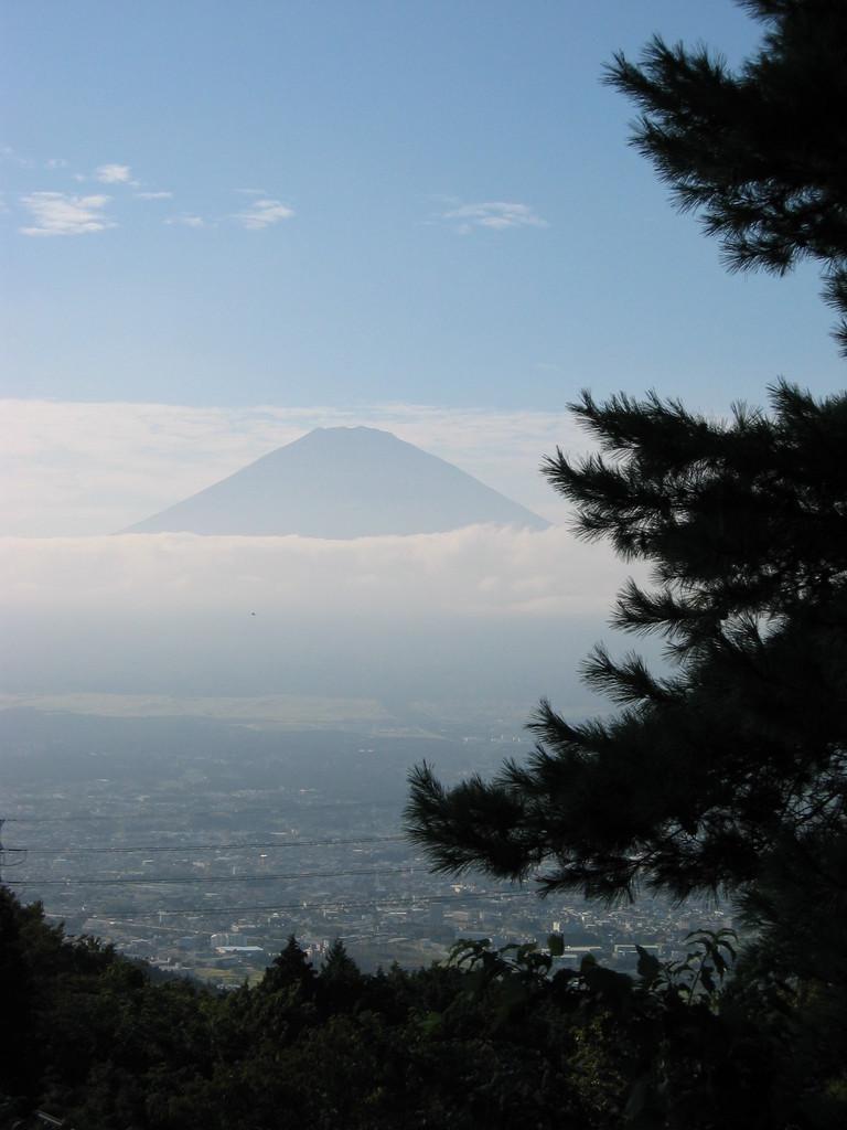 かすれ富士