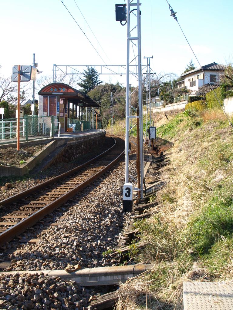 ローカル線の駅