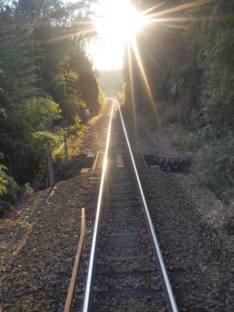 わたらせ渓谷鐵道線路
