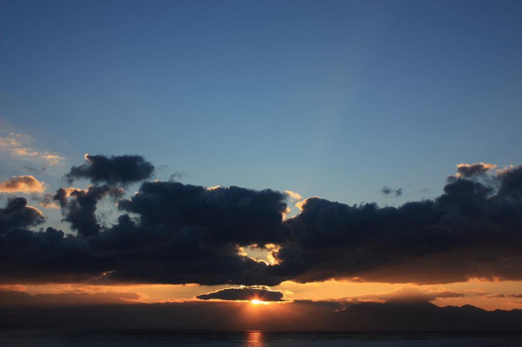First sunset.