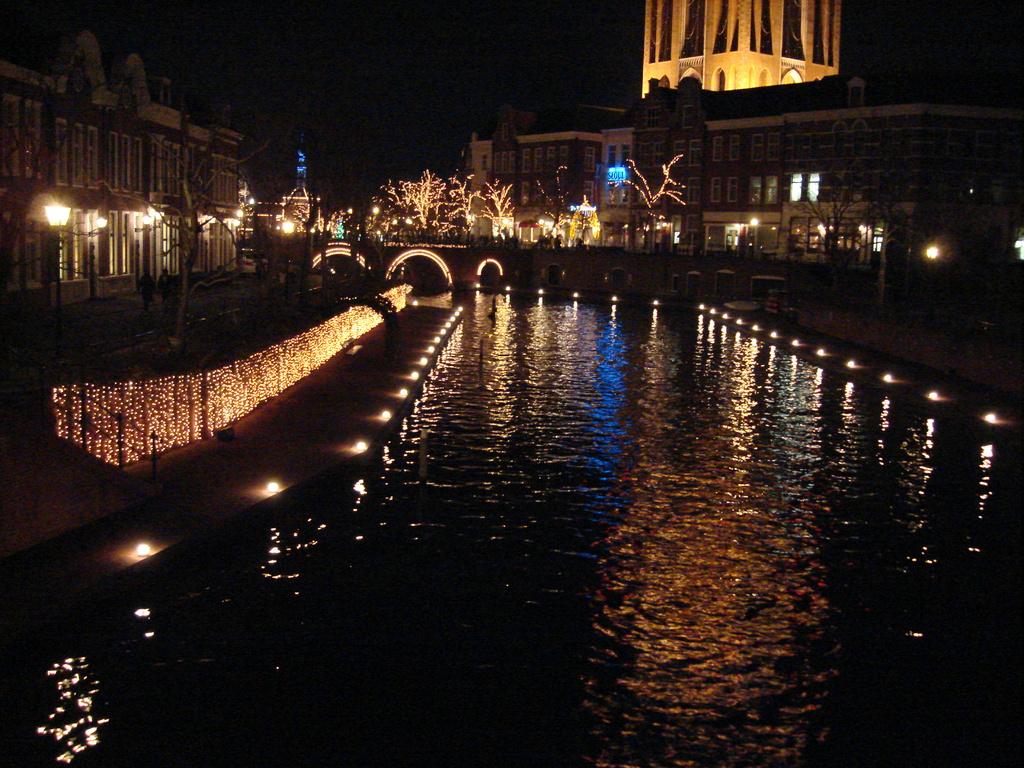 12月の運河