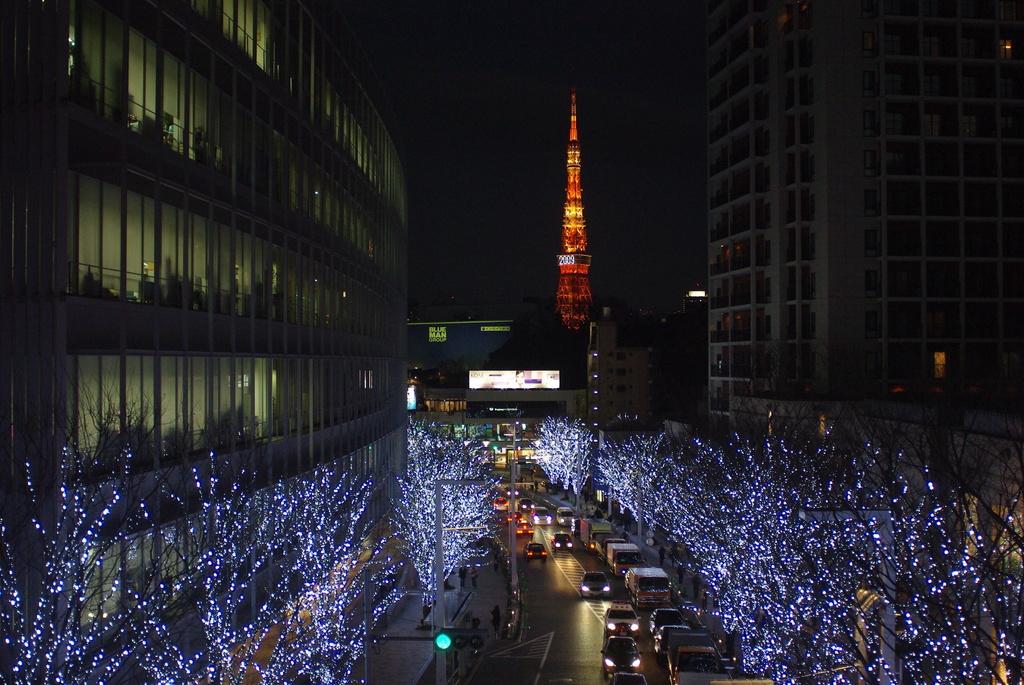 六本木から東京タワー
