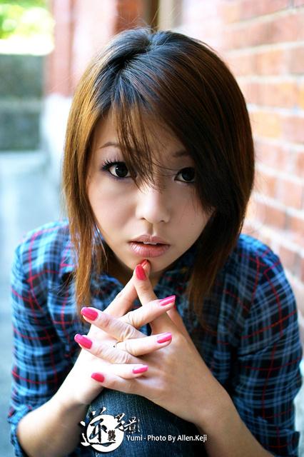 台湾に可愛い女