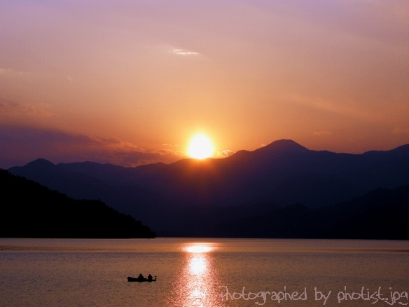 Sunset at Lake Chuzenji
