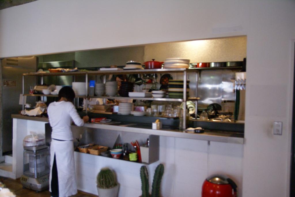 優しいキッチン