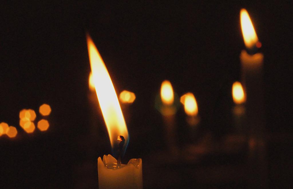 灯火に願いを