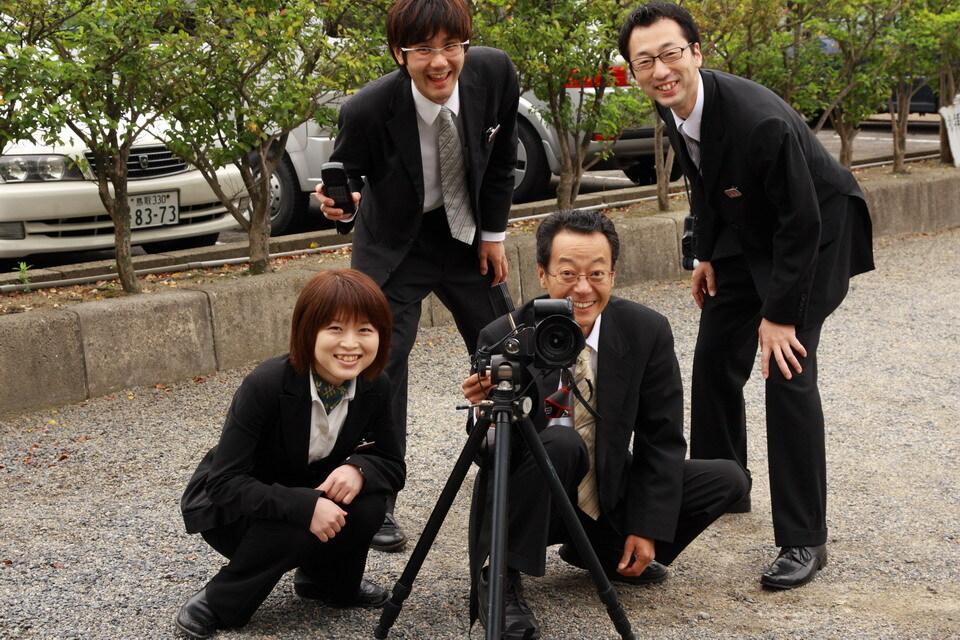 カメラマンたち