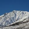 初冬白馬岳