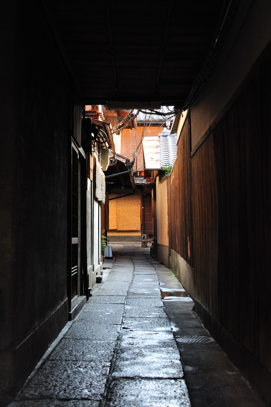 祇園の裏通り