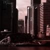 シンガポールの夕日