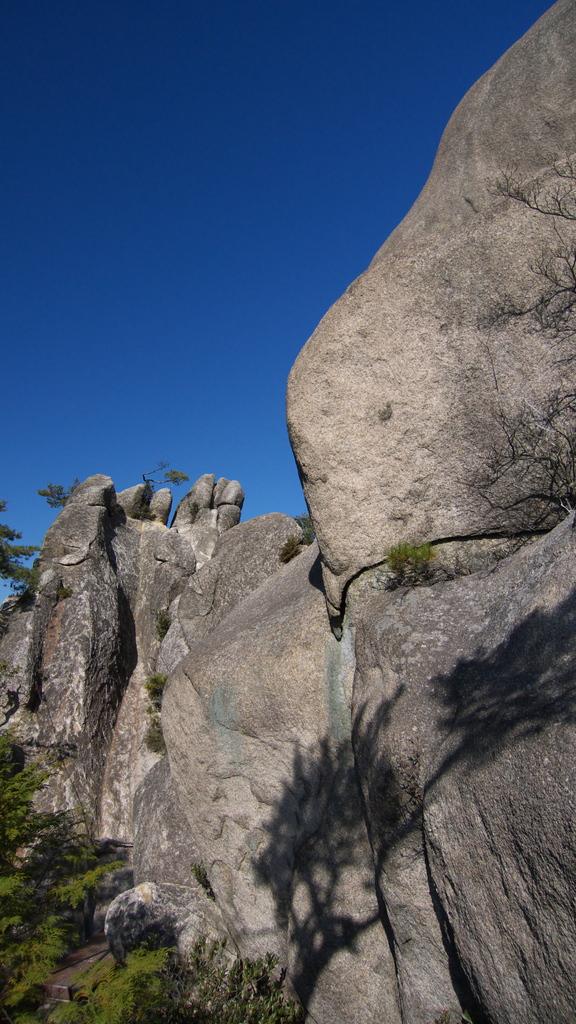 湖南アルプス 天狗岩
