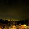 キャンプサイトのオリオン