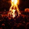 鎮守の森のとんど祭り