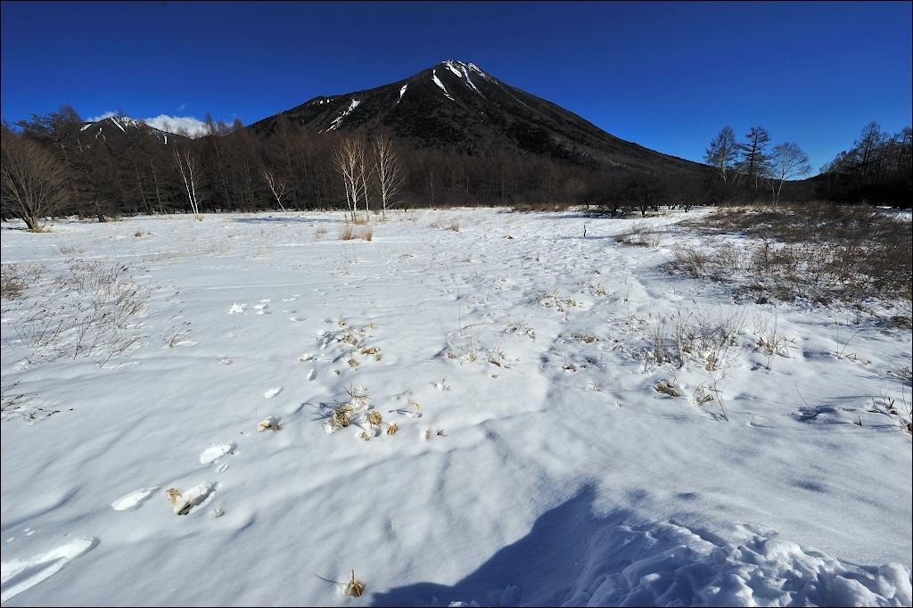 Mt. Nantai in NIKKO.