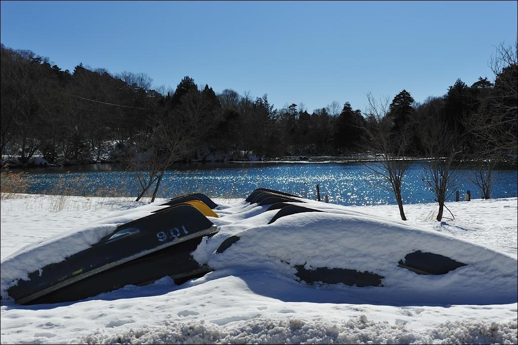 Lake Yunoko, Off-Season.