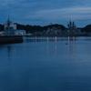 早朝の横須賀港