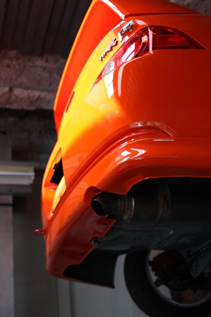 インテグラのレースカー