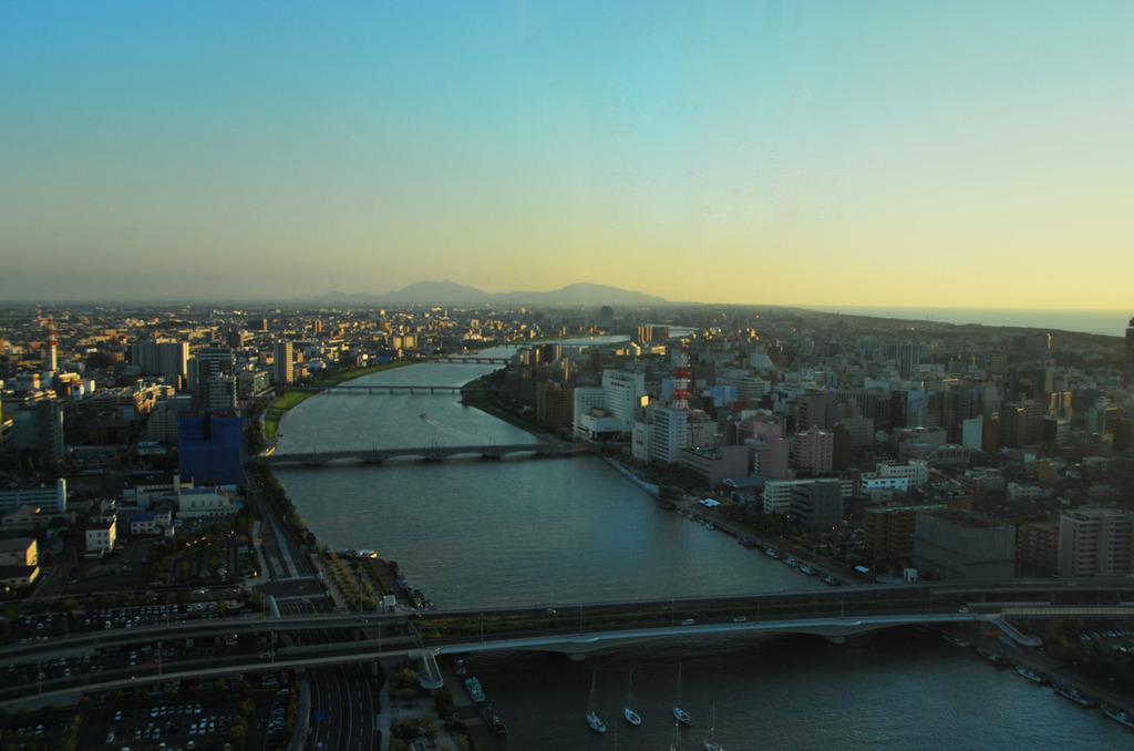 信濃川の最後