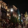 夜のテーマパーク