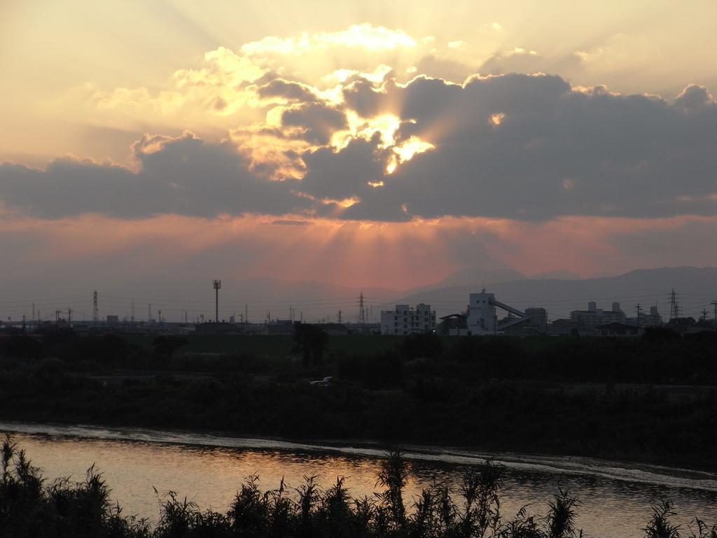 2008 秋 夕焼け