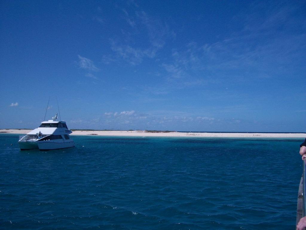 ケアンズ・ミコマスケイという砂の島