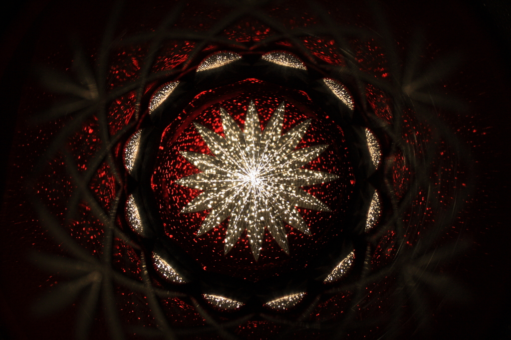 江戸切子の星