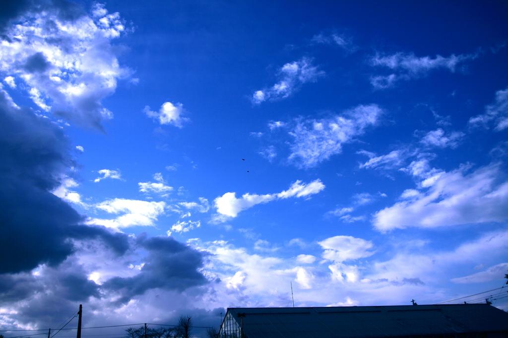 望みの空。