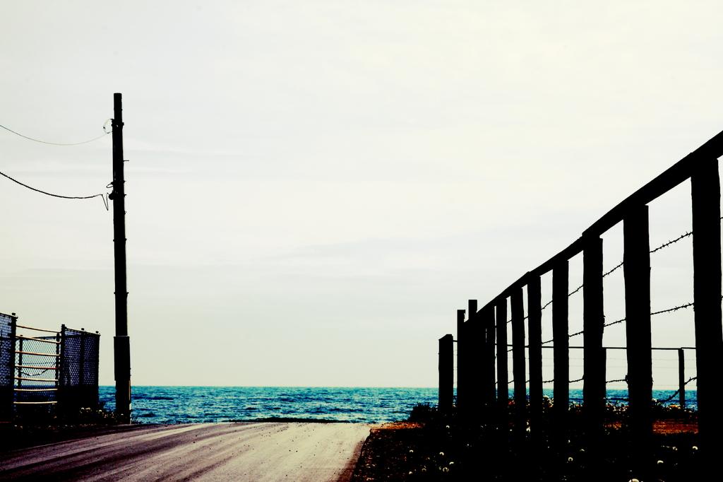 海へ行く。