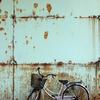 放置自転車...