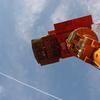 飛行機雲とロボ