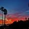 ラグナビーチの夕景