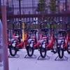 「坂道 神戸のレンタサイクル」
