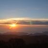 日出ヶ岳の日の出