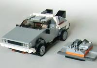 レゴのデロリアン LEGO Back to the Future DeLorea