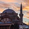 たそがれ空と古きモスク!