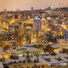 ジュエリーシティ・吹雪の切れ間に煌く街
