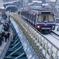 地下鉄、雪下を走る!