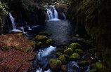晩秋の渓流(天狗滝)