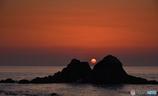 二見ヶ浦の夕日