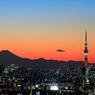 スカイツリーと富士山その2