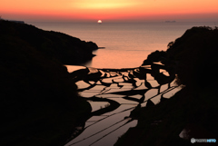 浜野浦の落日