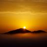 鎌倉山の雲海と御来光